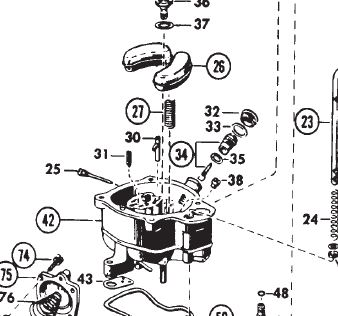 holley 4000 carburetor discharge teapot
